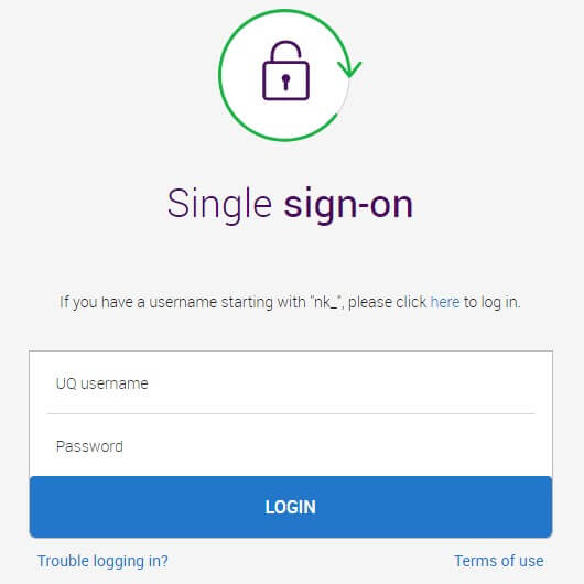 UQ Blackboard Login