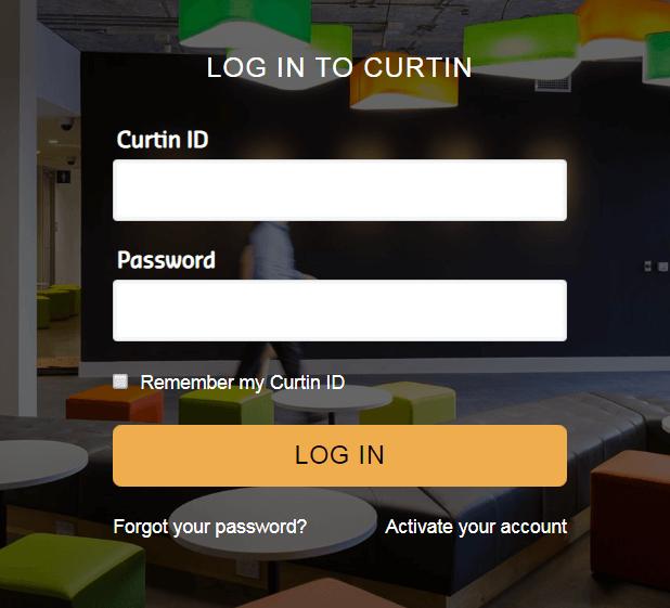 Curtin Blackboard