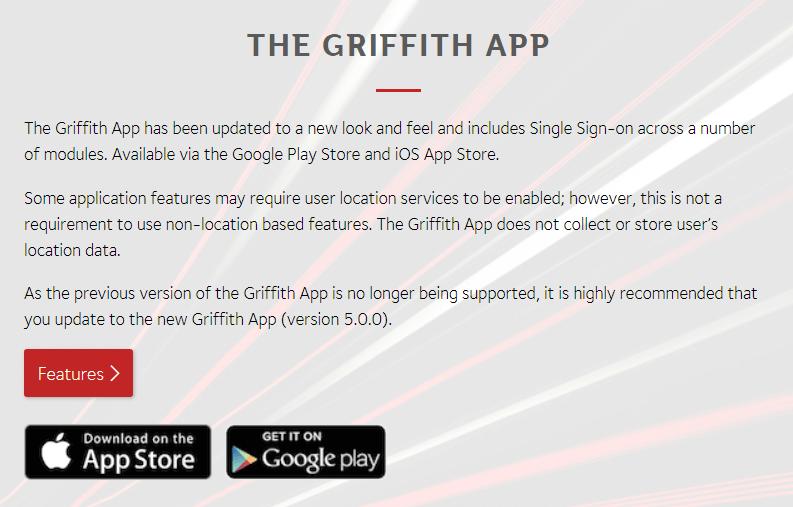 Griffith Blackboard Update