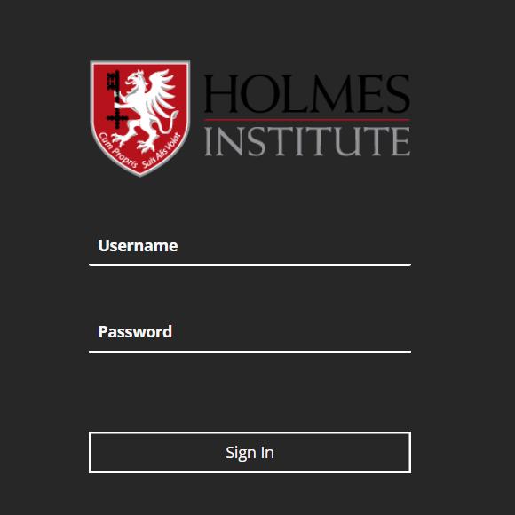 Holmes Blackboard