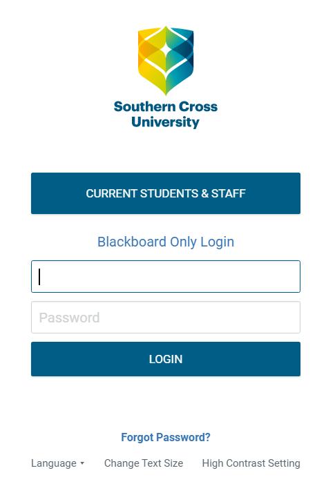 SCU Blackboard